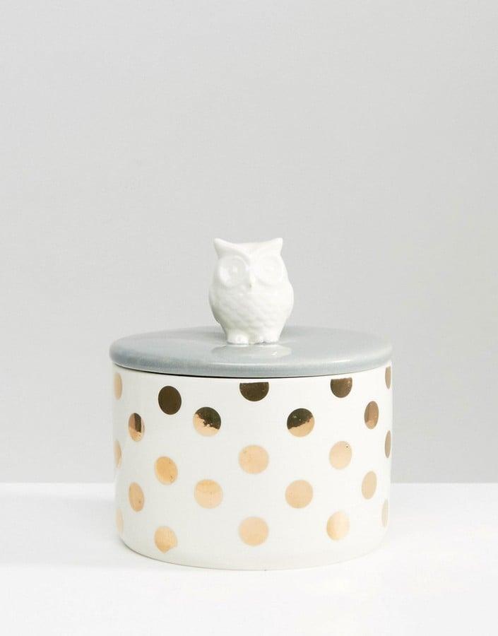 Owl Storage Pot