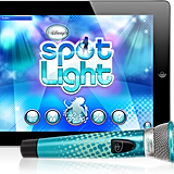 For 8-Year-Olds: Disney Spotlight Digital Wireless Mic + Karaoke App