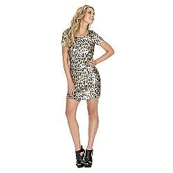 UK Style by French Connection Sequin Cheetah Dress ($99)