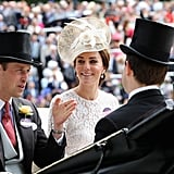 Kate Middleton Looking at Prince William 2016