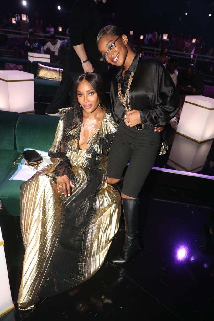 Marsai Martin and Naomi Campbell at the BET Awards