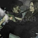 Angelina Jolie and Shiloh Jolie-Pitt head to dinner at Benihana.