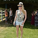 Coachella Couple Diane Kruger and Joshua Jackson Party With the Stars at H&M Loves Music
