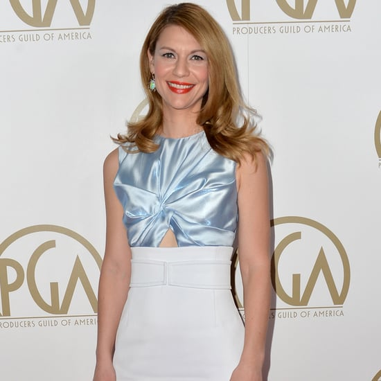 Claire Danes in Dior at Producers Guild Awards