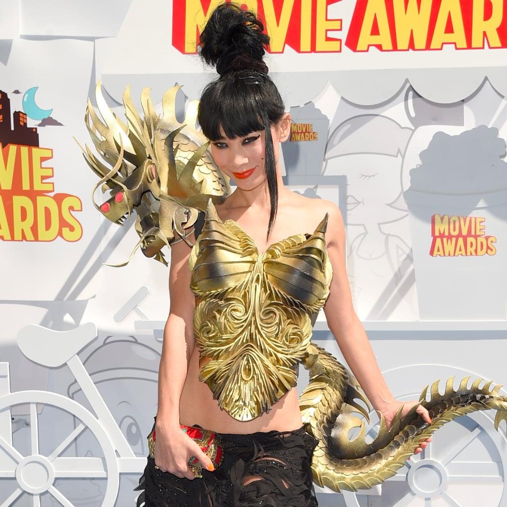 Bai Ling's Dress at the MTV Movie Awards 2015