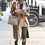 Zoë Kravitz had a major fashion moment in NYC on Friday.
