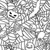 Get the coloring page: spiderweb