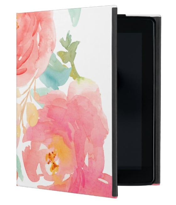 How adorable is this pink iPad  case ($42) for your girly gal pal?