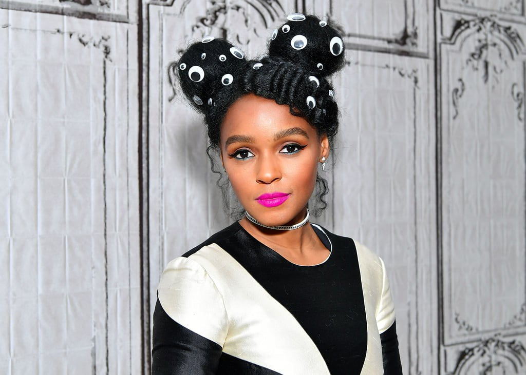 Janelle Monae Googly Eyes Hair