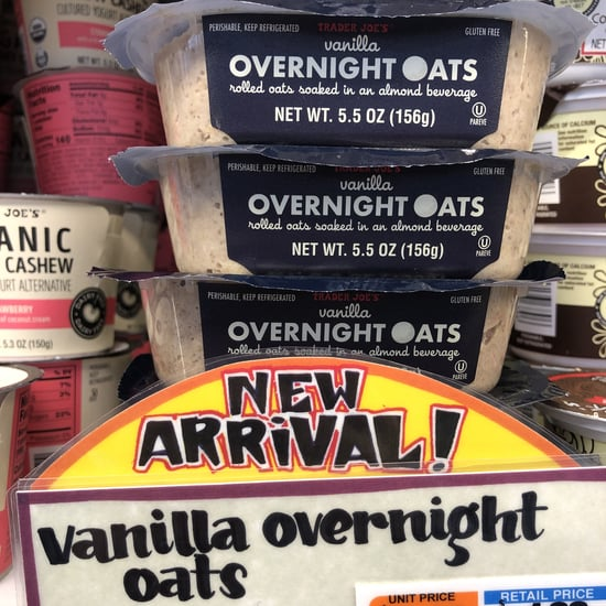 Trader Joe's Vanilla Overnight Oats With No Added Sugar