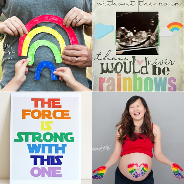 Rainbow Baby Pregnancy Announcement Ideas – Ideas to Announce Baby