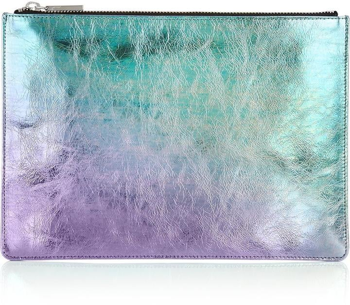 Iridescent Clutch Bag