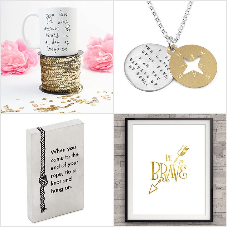 27 Uplifting Quote Gifts That Will Inspire Friends and Family