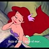 """""""Bajo el Mar,"""" The Little Mermaid"""