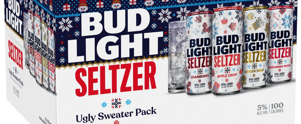 Bud Light Released Ugly Christmas Sweater Spiked Seltzers!