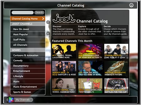 Joost Affected by the Recession, Stops Streaming TV Shows