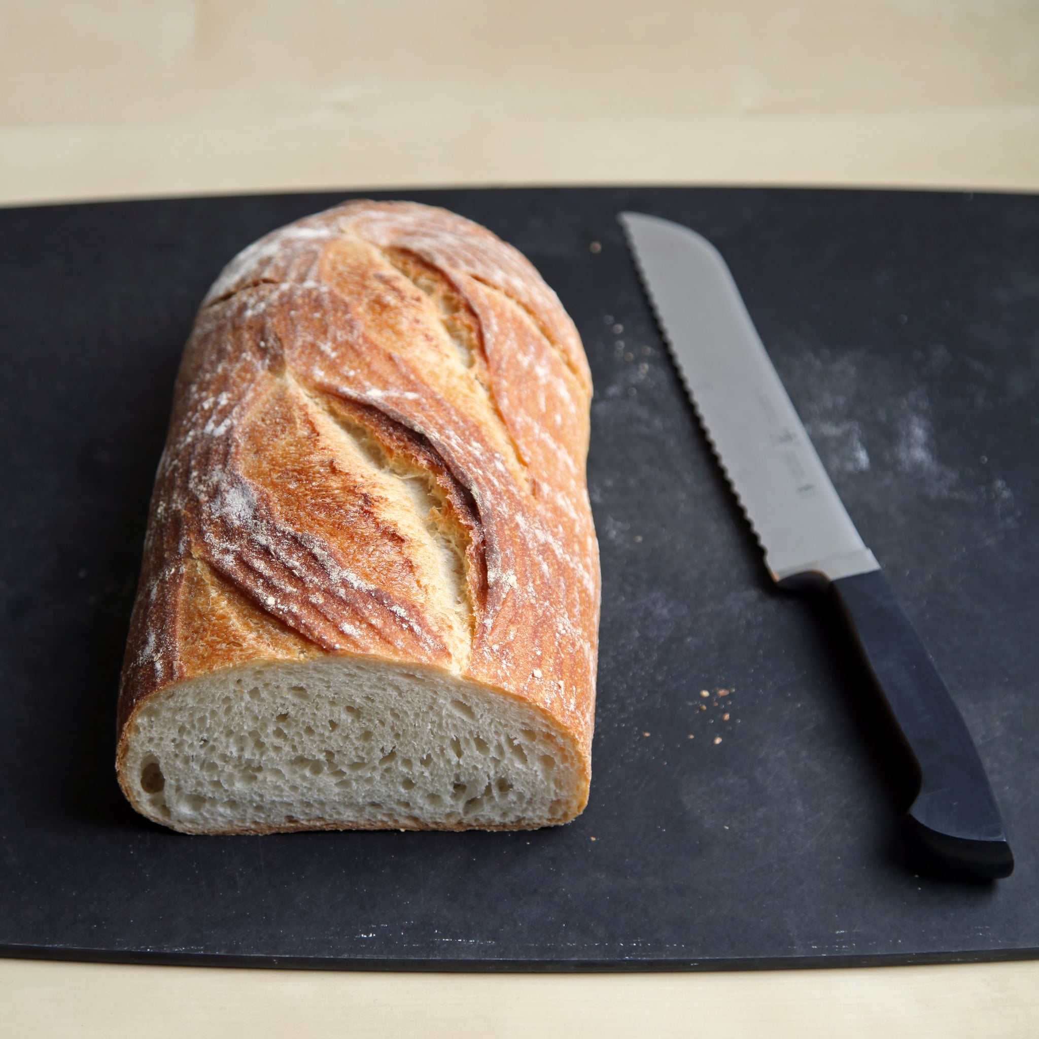 Use Day-Old Bread If Possible