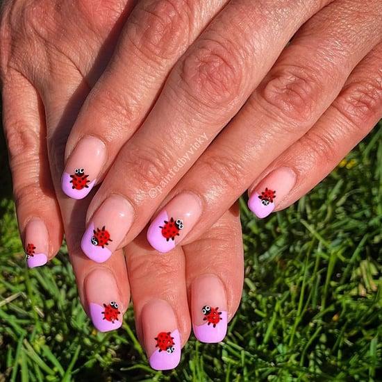Ladybug Nail-Art Trend For Summer