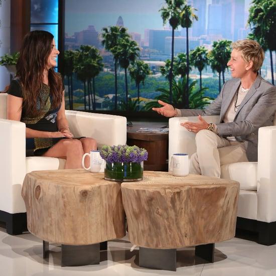 Sandra Bullock Talks Taking Her Son to Mardi Gras on Ellen