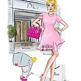 Pearl Krabs as a Dior Fashionista