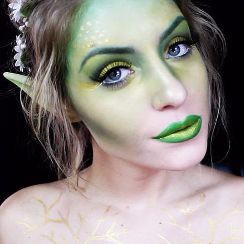 best halloween makeup tutorials on youtube popsugar beauty - Halloween Tutorials