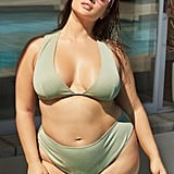 Nasty Gal It's Up to You Plus Plunging Bikini Top