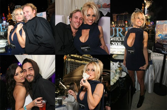 Pam Anderson Refuses to Class Up Solo NYE