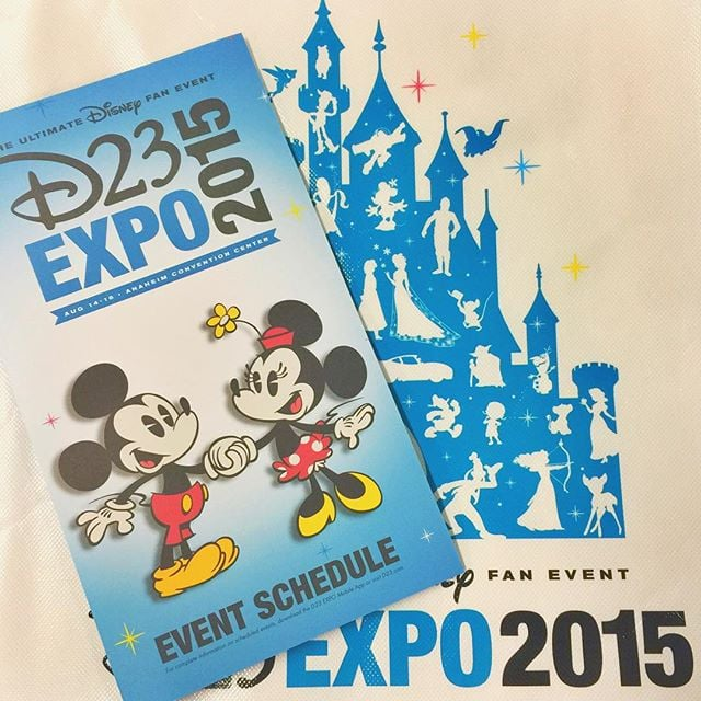 You have attended the D23 Expo before.