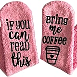 Coffee Socks With Gift Packageing