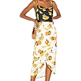 Song of Style Cleo Midi Dress in Fruit Multi from Revolve.com
