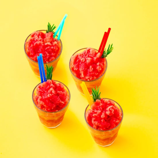 Iced Watermelon and Rosemary Coolers