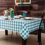 Charming Check Tablecloth