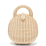 Cult Gaia Millie Woven-Rattan Basket Bag