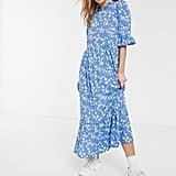 ASOS Design Smock Maxi Dress
