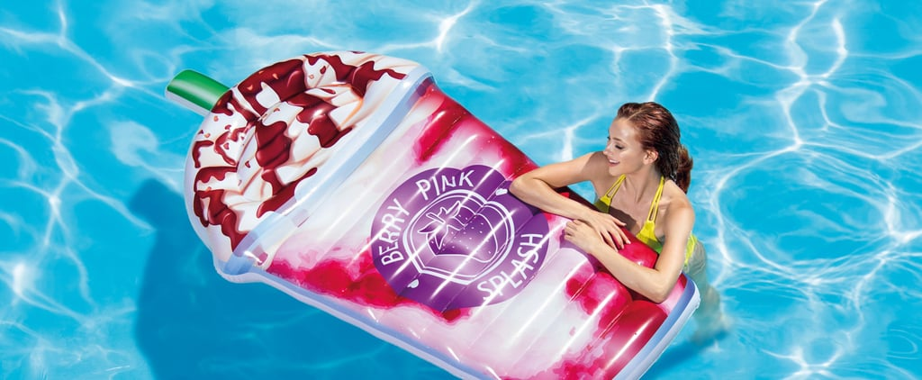 Hey Summer, Please Come Faster — We're DYING to Use This Frappuccino Pool Float