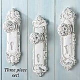 Set of 3 Shabby Chic French Country Door Knobs