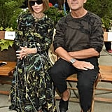 Anna Wintour and Steven Kolb