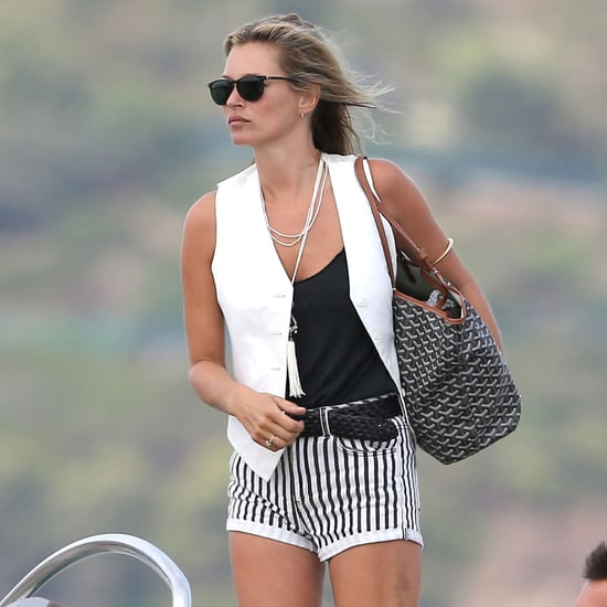 Kate Moss Vacation in Saint-Tropez | Pictures