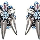 Mounser Plated Brass Bootes Earrings Irridescent Gun