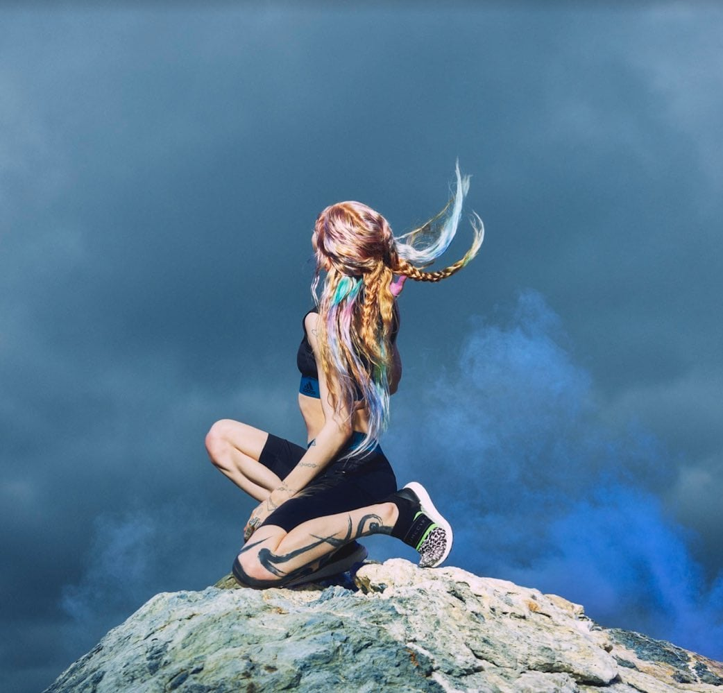 Grimes's Wellness Routine Involves Sensory Deprivation, Screaming Sessions, and Sword Fighting