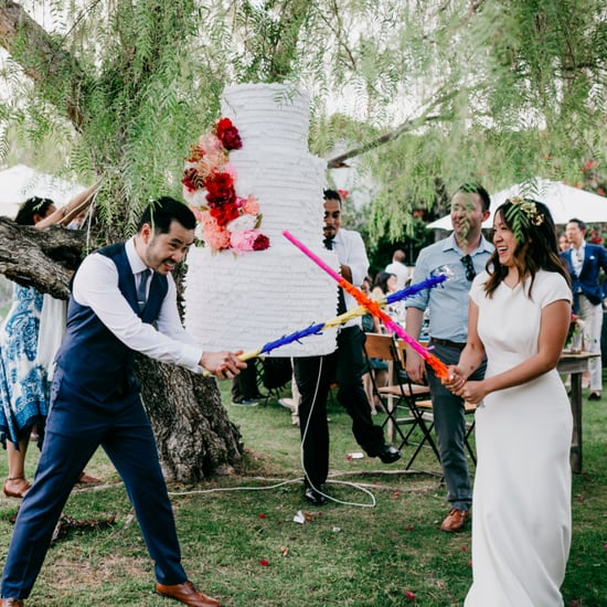 Piñata Wedding Cake Smash