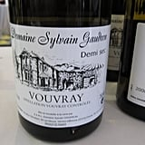 This Vouvray was one of my favorite sips.
