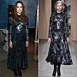 Keira Knightley Wearing Fall '16 Erdem