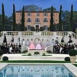 The Grand Palais Was Transformed Into a Mediterranean Garden