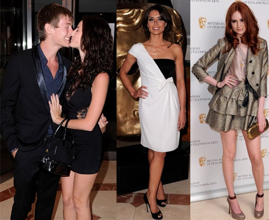 Pictures of Kaya Scodelario and Elliott Tittensor Kissing at the BAFTA Craft Awards Plus Karen Gillan and Christine Bleakley