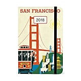 Cavallini & Co. 2018 San Francisco Weekly Planner ($11, originally $15)