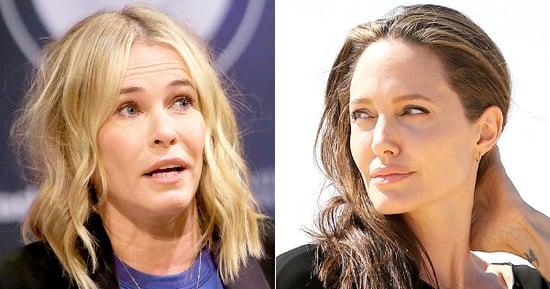 Jennifer Aniston's BFF Chelsea Handler Calls Angelina Jolie a 'F--king Lunatic' After Brad Pitt Split