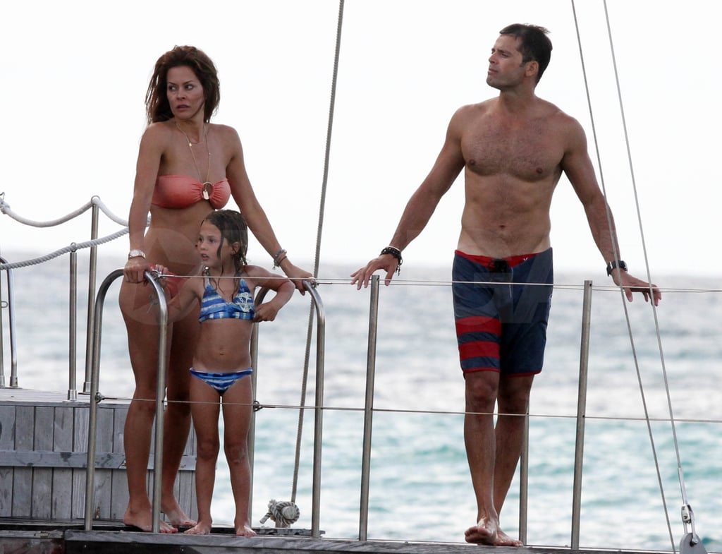 David Charvet and Brooke Burke together.