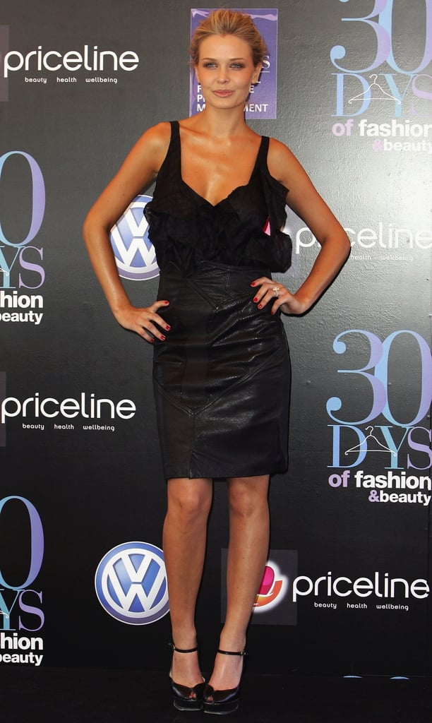 Lara Bingle at the 30 Days of Fashion and Beauty Launch