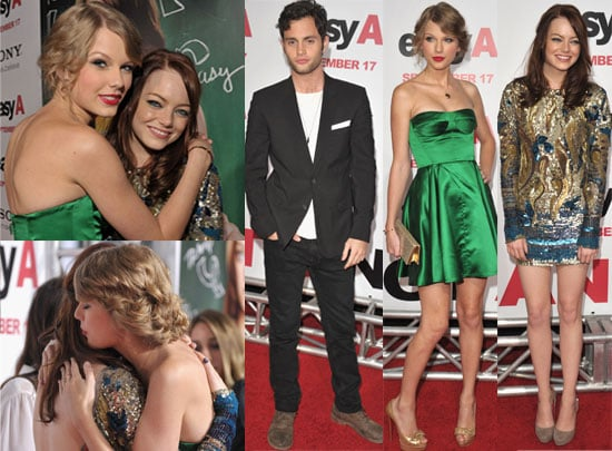 Easy A Premiere in LA With Taylor Swift, Emma Stone, Penn Badgley
